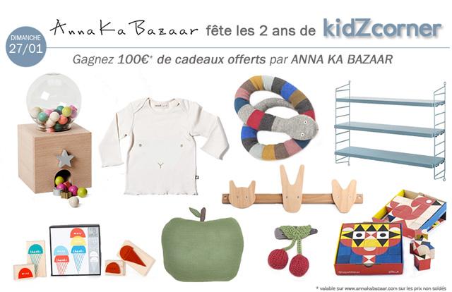 kidZcorner fête ses 2 ans # ANNA KA BAZAAR
