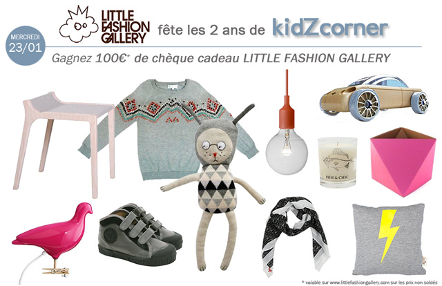 kidZcorner fête ses 2 ans # LITTLE FASHION GALLERY