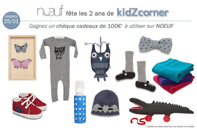 kidZcorner fête ses 2 ans # NOEUF
