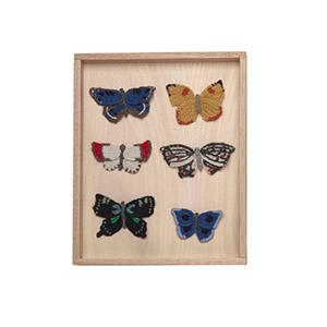 Tableau 6 papillons