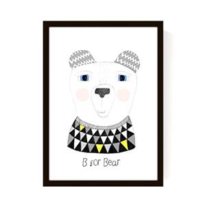 Affiche B for Bear