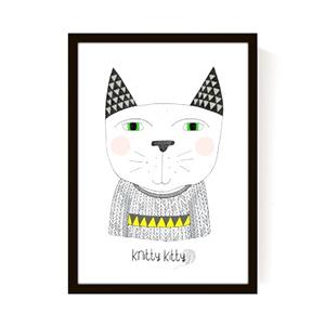 Affiche Knitty Kitty