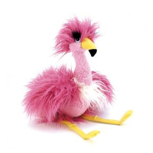 Peluche Flamand rose Fenella