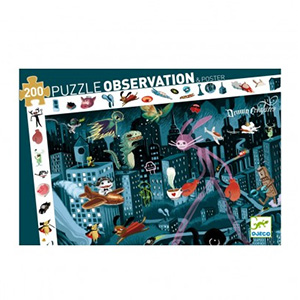 Puzzle d'observation Night city