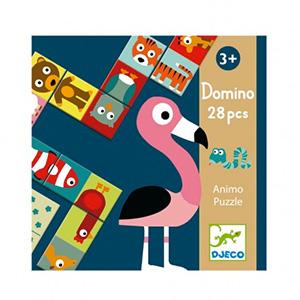Puzzle Domino Animaux