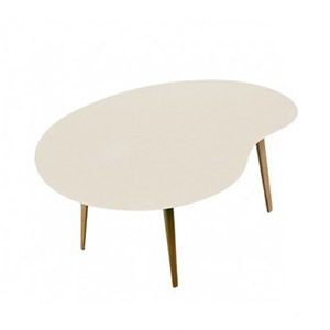 Table Lalinde gris