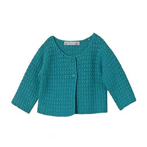 Cardigan emeraude