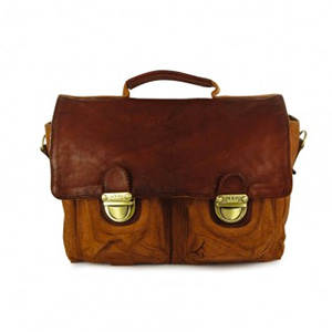 Cartable Vintage Caramel