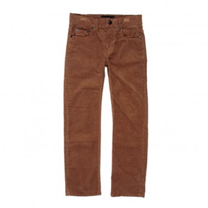 Pantalon velours Norton ocre