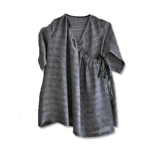 Robe manteau asymétrique