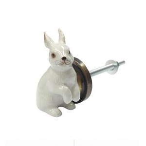 Bouton de porte lapin and mary kidzcorner for Decoration porte lapin