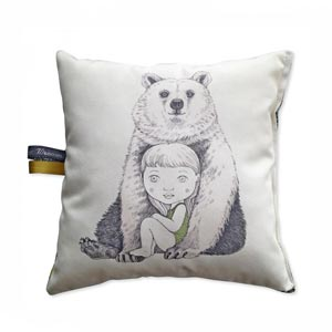 Coussin Ours