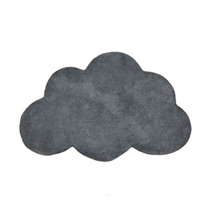 tapis nuage gris lilipinso kidzcorner. Black Bedroom Furniture Sets. Home Design Ideas