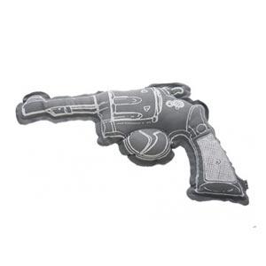 Coussin Gun gris