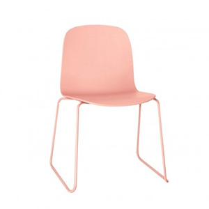 Chaise Visu rose