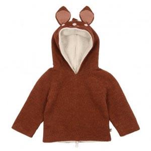Pull réversible à capuche Bambi