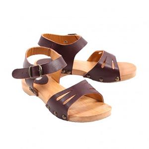 Sandales violine