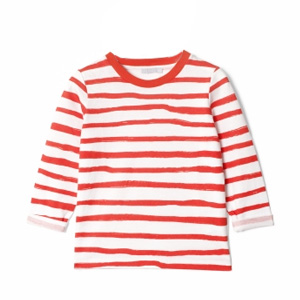 T-shirt rayé Painterly