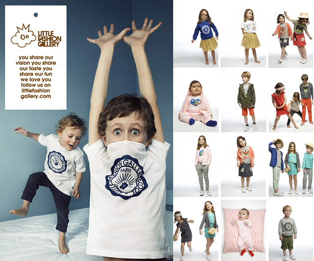 Little Fashion Gallery lance sa marque