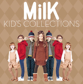 Milk Kid's Collection Automne Hiver 2013