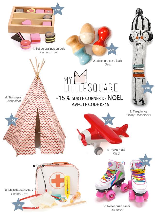 Sélection de Noël My Little Square