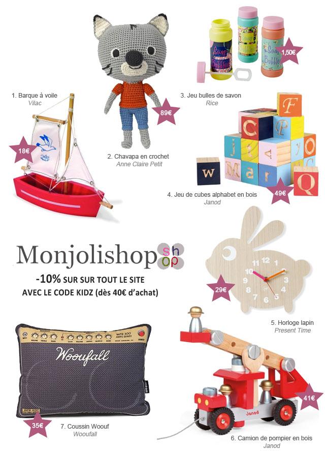 Séléction de Noël MonJoliShop