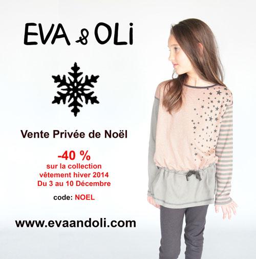 Vente de Noël Eva & Oli