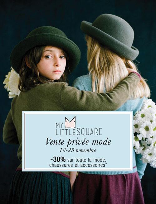 Vente privée mode sur My Little Square