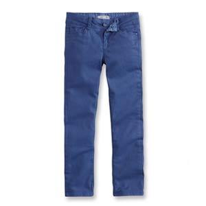 Pantalon slim en toile