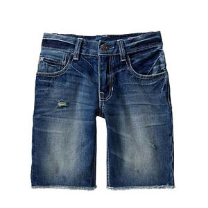 Short en jeans Frayed