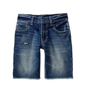 Short en jeans Frayed