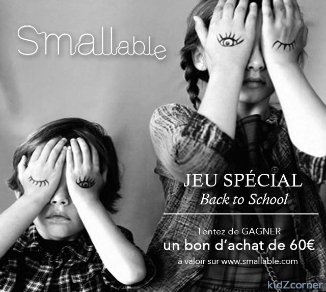 La rentrée de Smallable 2014 + jeu concours