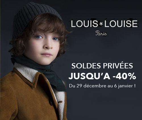 Soldes privées Louis Louise