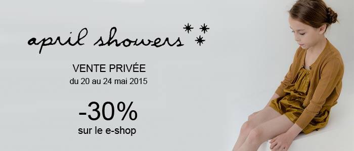 Ventes privées April Showers