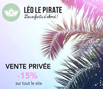Vente privée Léo le pirate