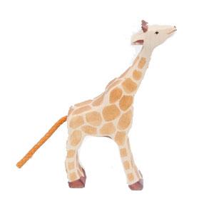 Animaux en bois Girafe