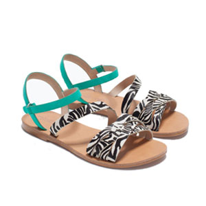 Sandales animal