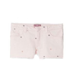 Short en denim étoile