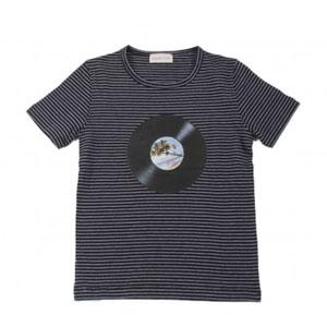 T-shirt rayé Disque Record