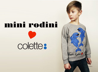 Collab Mini Rodini x Colette