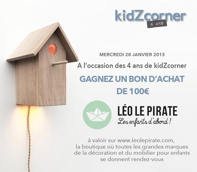 Anniversaire 4 ans kidZcorner avec léo le pirate