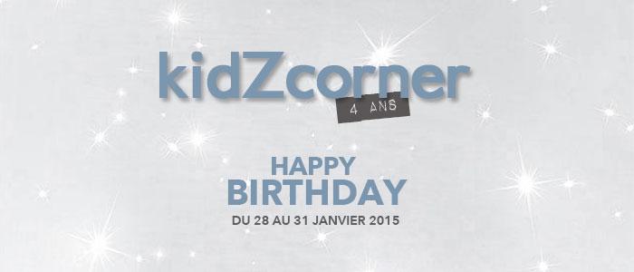 kidZcorner fête ses 4 ans !