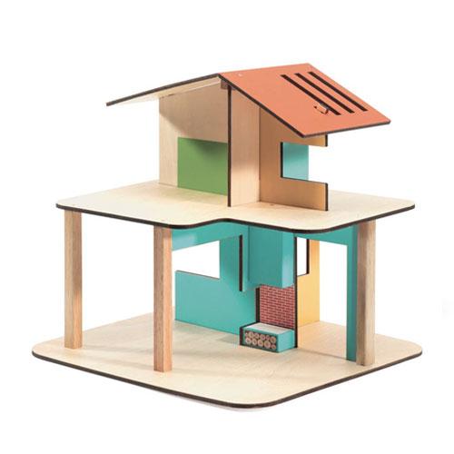Modern House multicolore