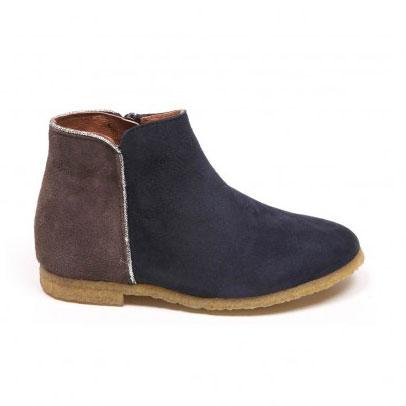 Boots bicolores Liseré