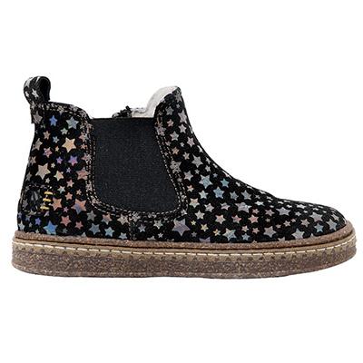 Boots fourrées étoiles