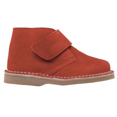 Desert Boot velcros rouge