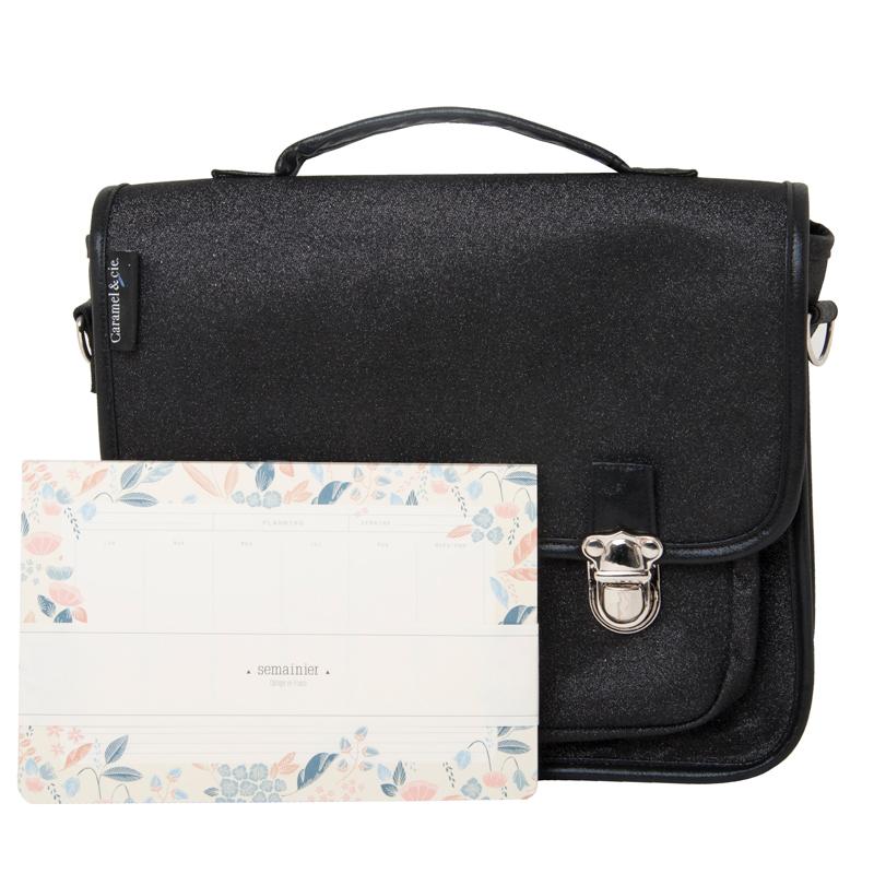Kit sac d'ordinateur + semainier