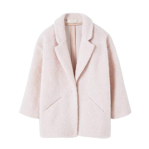 Manteau laine et mohair