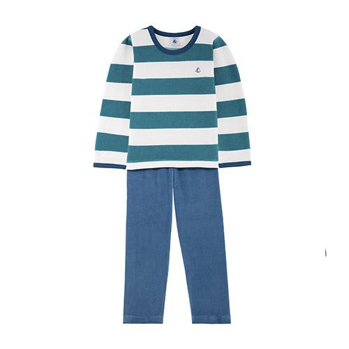 Pyjamas 2 pièces en velours