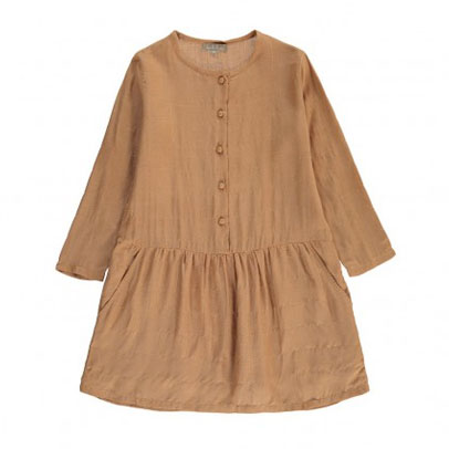 Robe Carreaux caramel